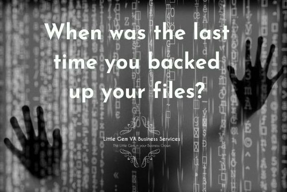 Backup everything! All the time!